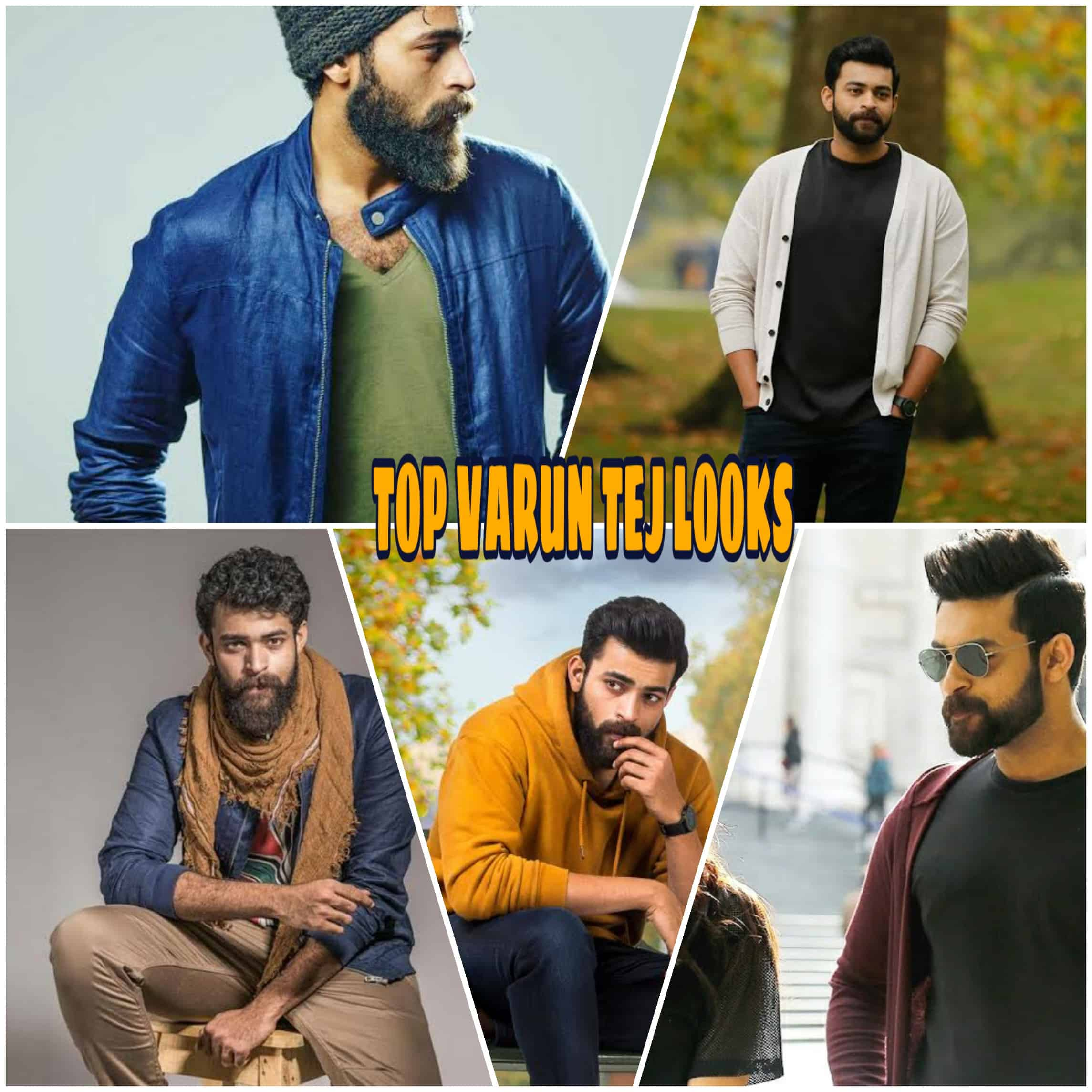 Top Varun Tej's Looks: You Must Try