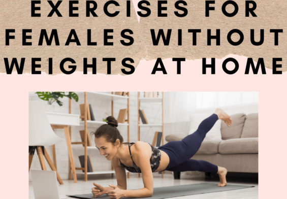 Body Toning Exercises for Females Without Weights at Home