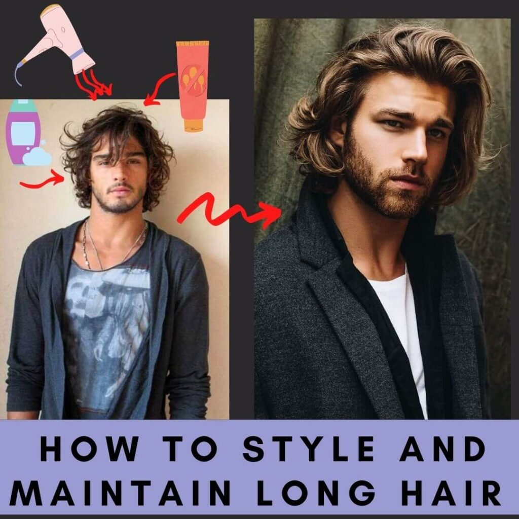 Hair long what to do male with Hairstyles for
